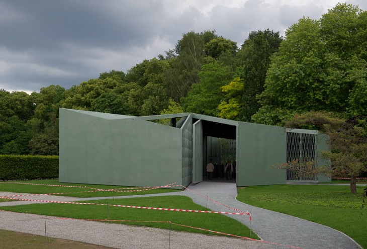 Middelheim Pavillion by Robbrecht & Daem architects, Antwerp, B