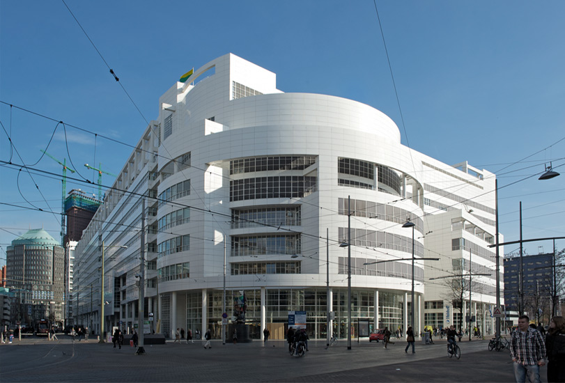 City Hall & Central Library by Richard Meier, The Hague, NL