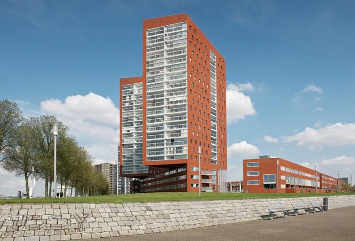 2e Katendrechtse Haven by DKV Architects, Rotterdam Katendrecht, NL