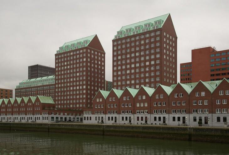 De Compagnie by Hans Kollhoff architects, Rotterdam Kop van Zuid, NL