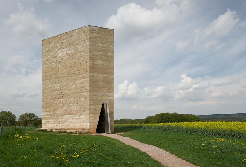 Bruder Klaus Kapelle by Peter Zumthor, Wachendorf, DE
