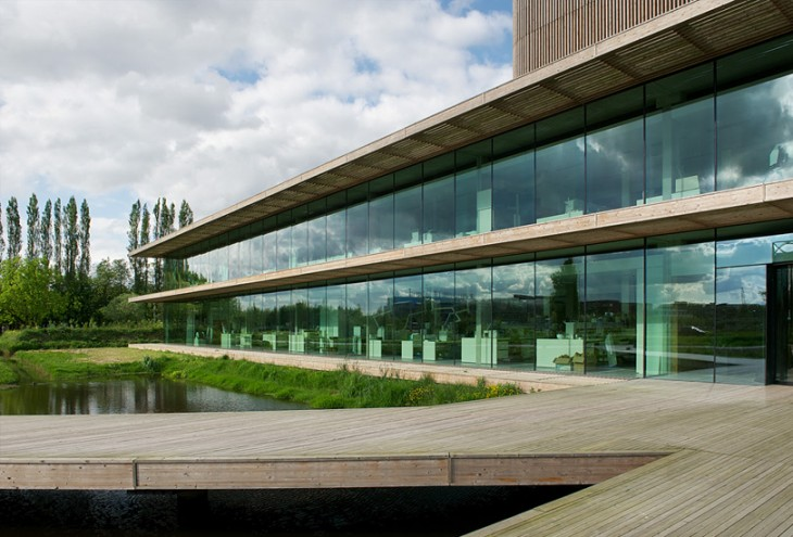 Netherlands Institute of Ecology by Claus & Kaan architects, Wageningen, NL