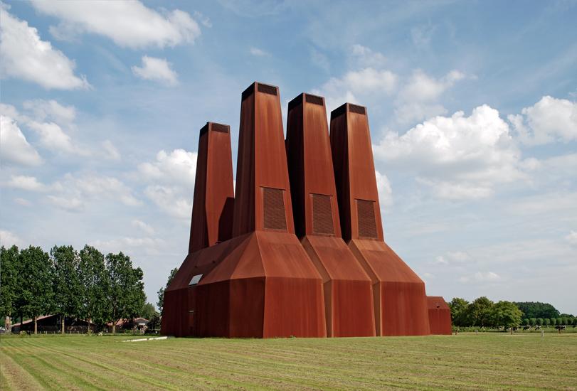 Heat Plant by Zeinstra Van der Pol architects, Utrecht Uithof, NL