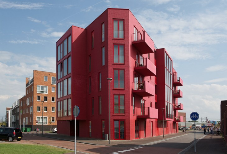 Paint it Red! by Kuiper Compagnons Architects, Almere Poort, NL