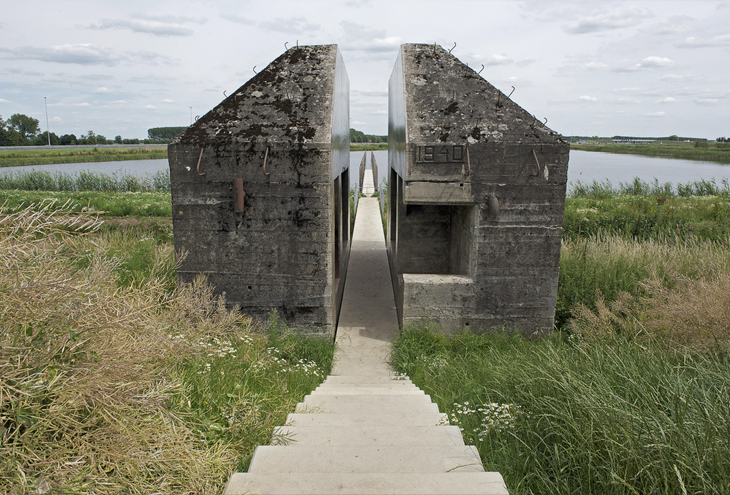 Bunker 599 by Atelier de Lyon & Rietveld Landscape, Zijderveld, NL