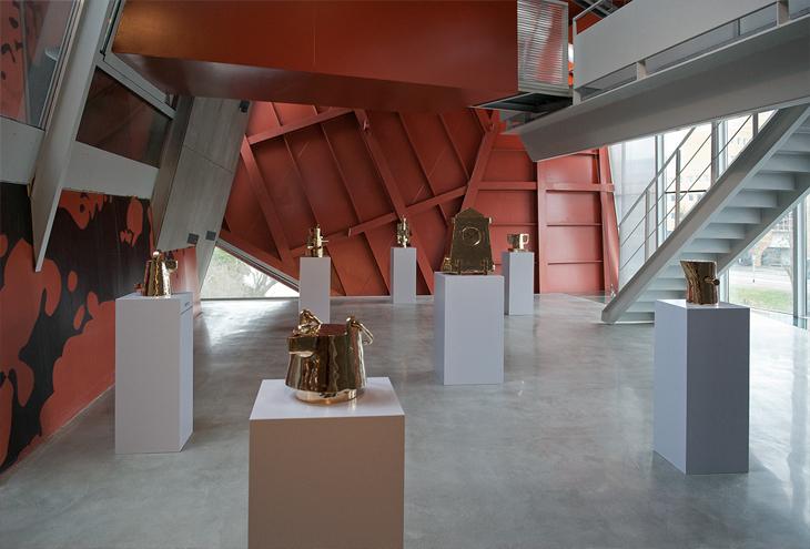 Groninger Museum section by Coop-Himmelb[l]au, Groningen, NL