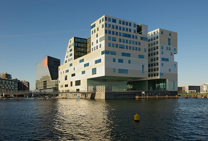 IJdock by Claus & Kaan architects, Amsterdam, NL