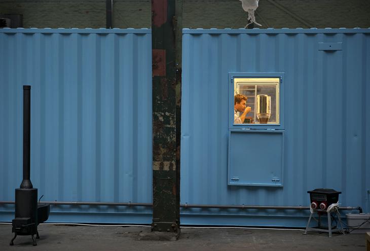 Onderzeebootloods, Museum Boijmans van Beuningen, Rotterdam Heijplaat, NL