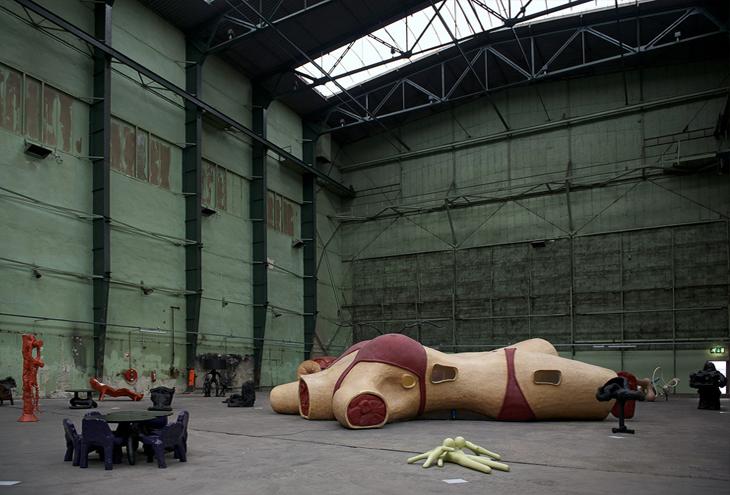 Onderzeebootloods Museum Boijmans van Beuningen, Rotterdam Heijplaat, NL