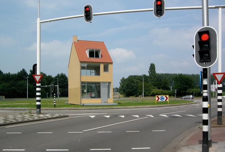 Rotating House by John Körmeling, Tilburg, NL