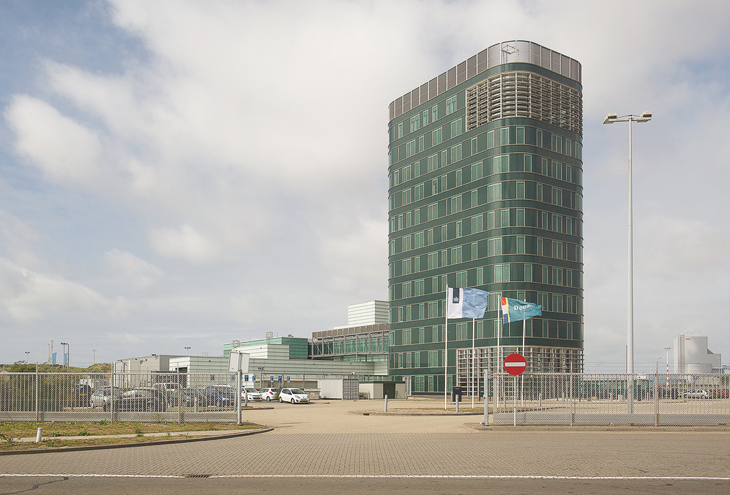 Customs Building by architect Teun Koolhaas, Rotterdam Maasvlakte, NL