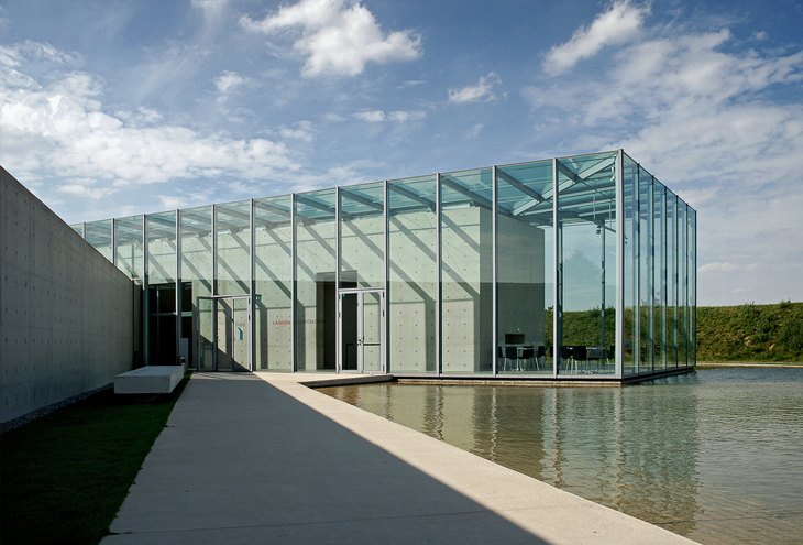 Langen Foundation by Tadao Ando, Neuss, D