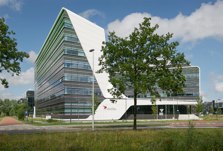 Astellas Building by UN-Studio, Leiden, NL