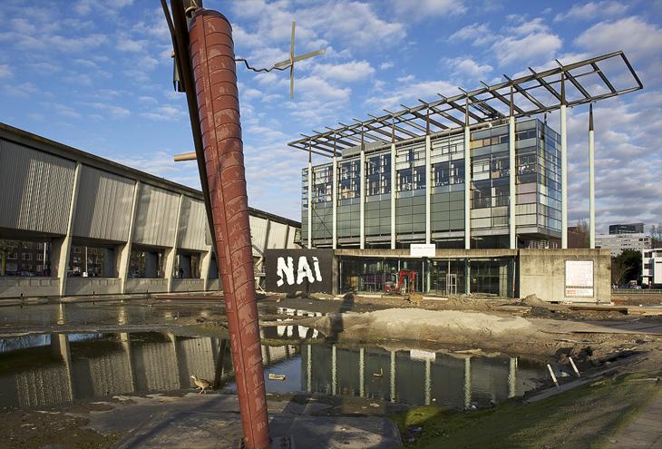 Het Nieuwe Instituut by Jo Coenen architects, Rotterdam, NL