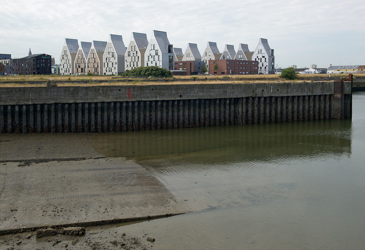 Dwellings ZAC Grand Large by Lacaton & Vassal architects, Dunkirk, F