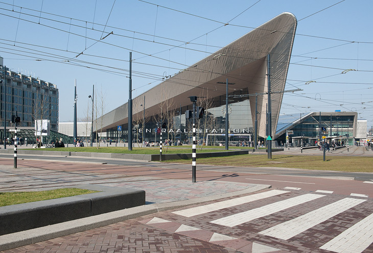 Central Station by Team-CS architects, Rotterdam, NL
