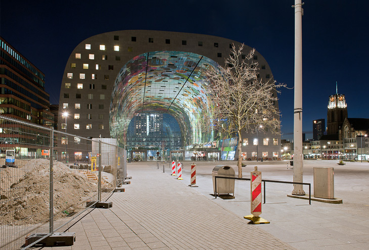 Markthal by MVRDV architects, Rotterdam, NL
