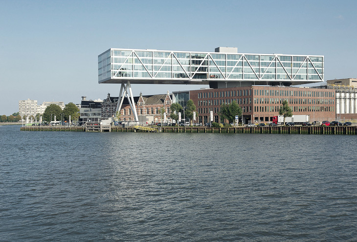 Unilever Building 'The Bridge' by JHK architects, Rotterdam Kop van Zuid, NL