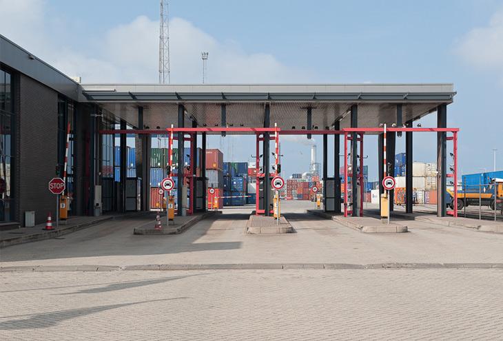 ECT, Maasvlakte, Rotterdam, NL