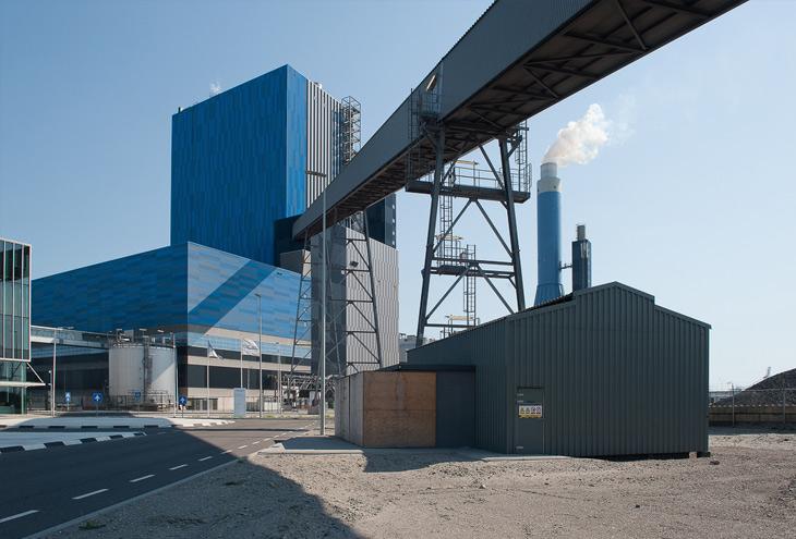 GDF-Suez Energy Plant, Maasvlakte, Rotterdam, NL