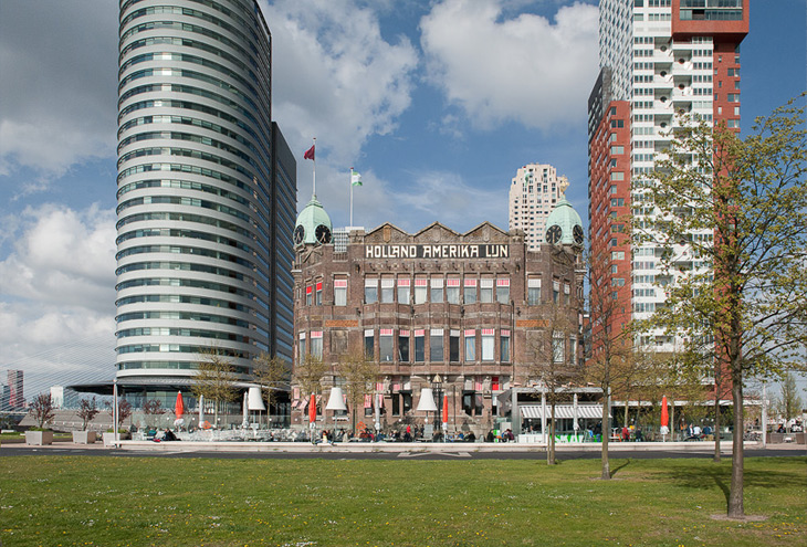 Hotel New York, Wilhelminapier, Rotterdam, NL