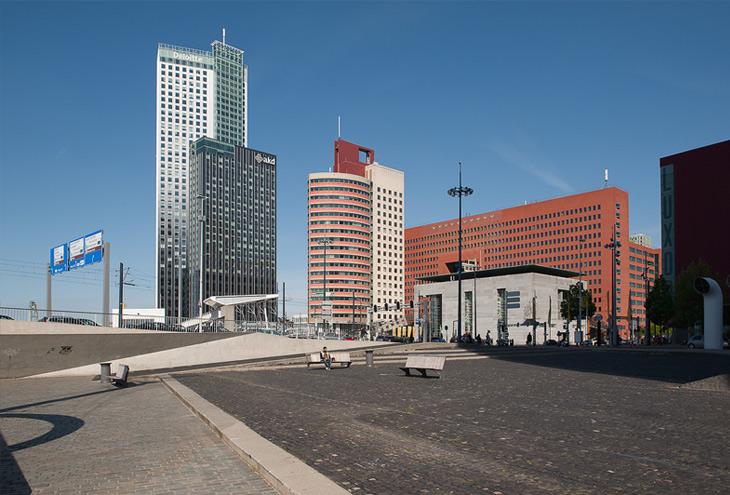 Wilhelminaplein, Rotterdam, NL