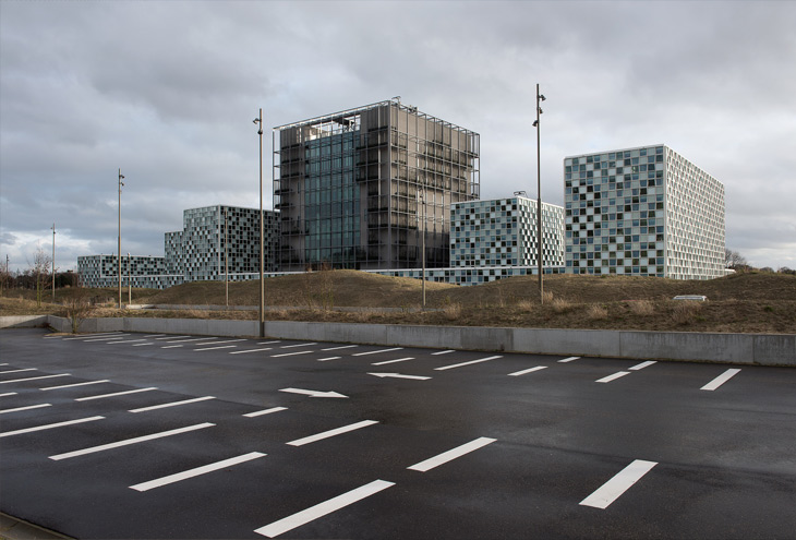The International Criminal Court headquarters by Schmidt-Hammer-Lassen architects, The Hague, NL
