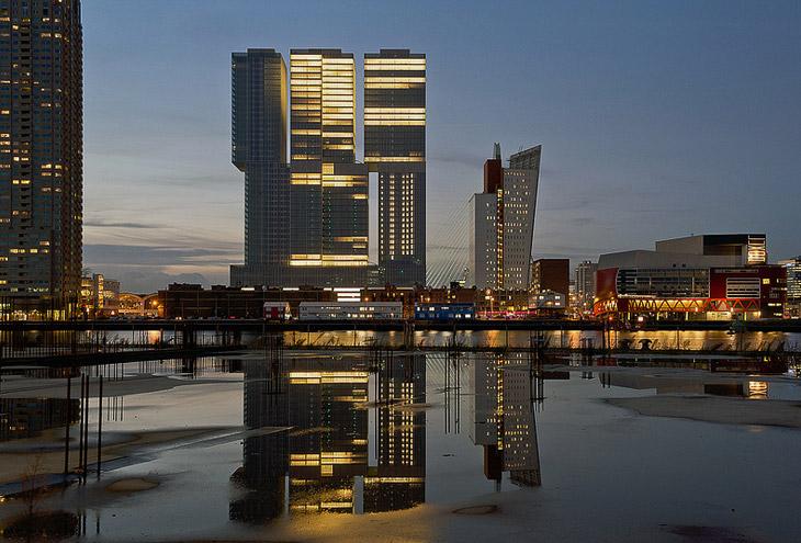 De Rotterdam by Rem Koolhaas:OMA, Rotterdam, NL