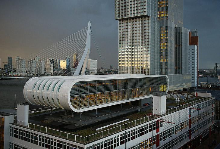 Wilhelminapier-Rotterdam,-NL