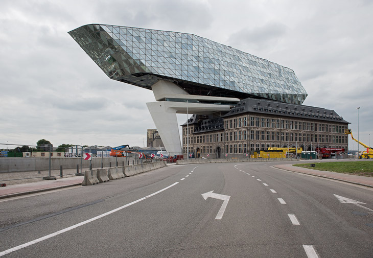 New Port House by Zaha Hadid, Antwerp, B